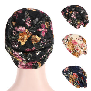 DV-FT-Women-039-s-Ethnic-Lace-Flower-Baggy-Beanie-Cap-Spring-Summer-Casual-Hat-San