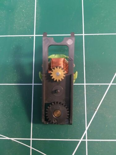 AURORA AFX COMPLETE GEAR PLATE ASSEMBLY HIGH PERF MEAN GREEN
