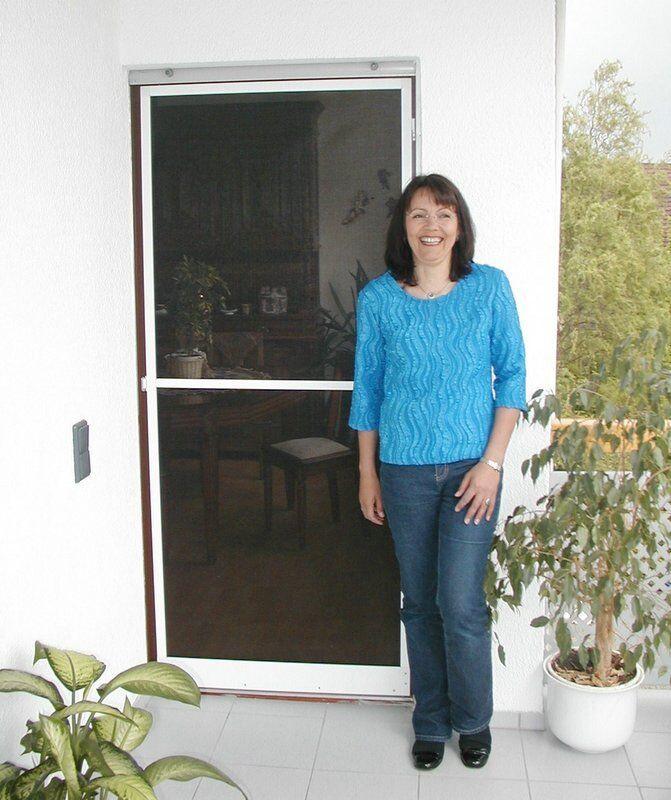 Fliegengitter-Tür mit Alu-Rahmen bis 120 x 216 cm | New Listing  | Passend In Der Farbe  | Kaufen  | Qualitativ Hochwertiges Produkt