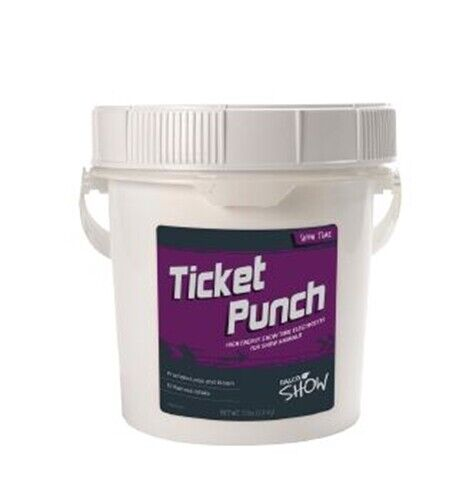 RALCO SHOW TICKET PUNCH™High Energy Show Time Electrolytes for Show Pigs 5lbs