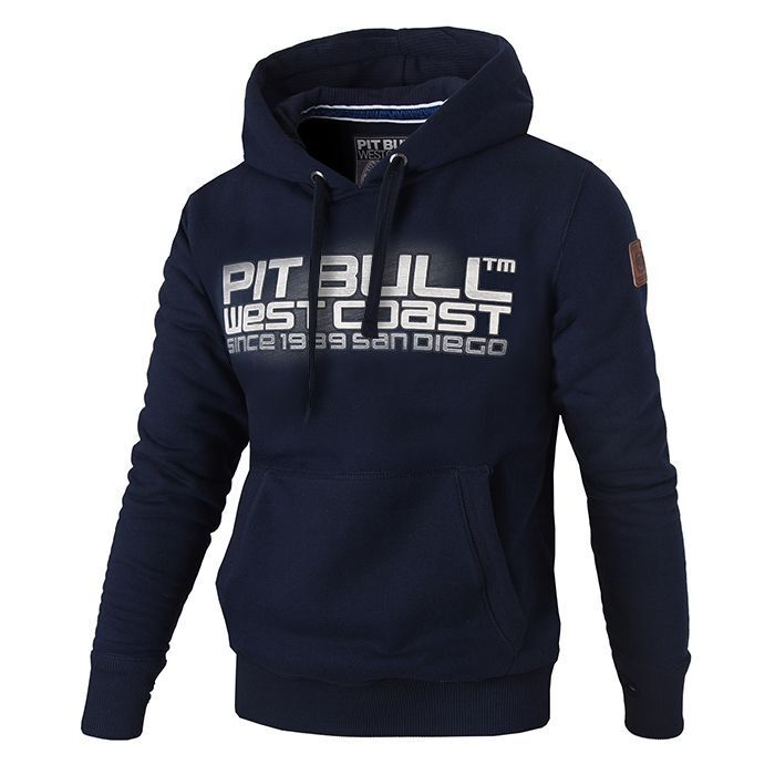 Pit Bull West Coast Hooded Eighty Nine Hoodie Navy Blau