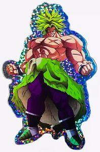 2X-Broly-Dragon-Ball-Z-DBZ-Manga-PS-XBOX-Phone-Decal-Super-Foil-4-5-034-Sticker