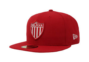 New Era 59Fifty Hat Club Necaxa Mexican Soccer League Mens Womens ... ab1e76ab3b