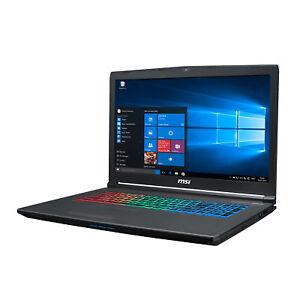 Notebook MSI Gaming GF72 Core i7-8750 - 16GB - GTX 1060 256GB SSD + 1TB - WIN 10