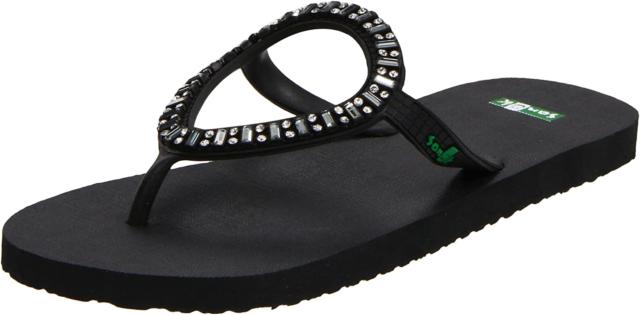 Sanuk Womens Sandals IBIZA Monaco White