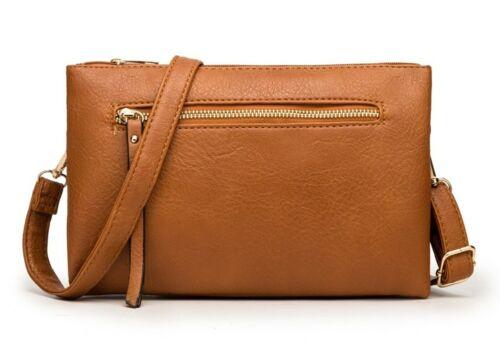 Zip Detail Cross Body Bag Womens Shoulder Bag Clutch Bag Handbag