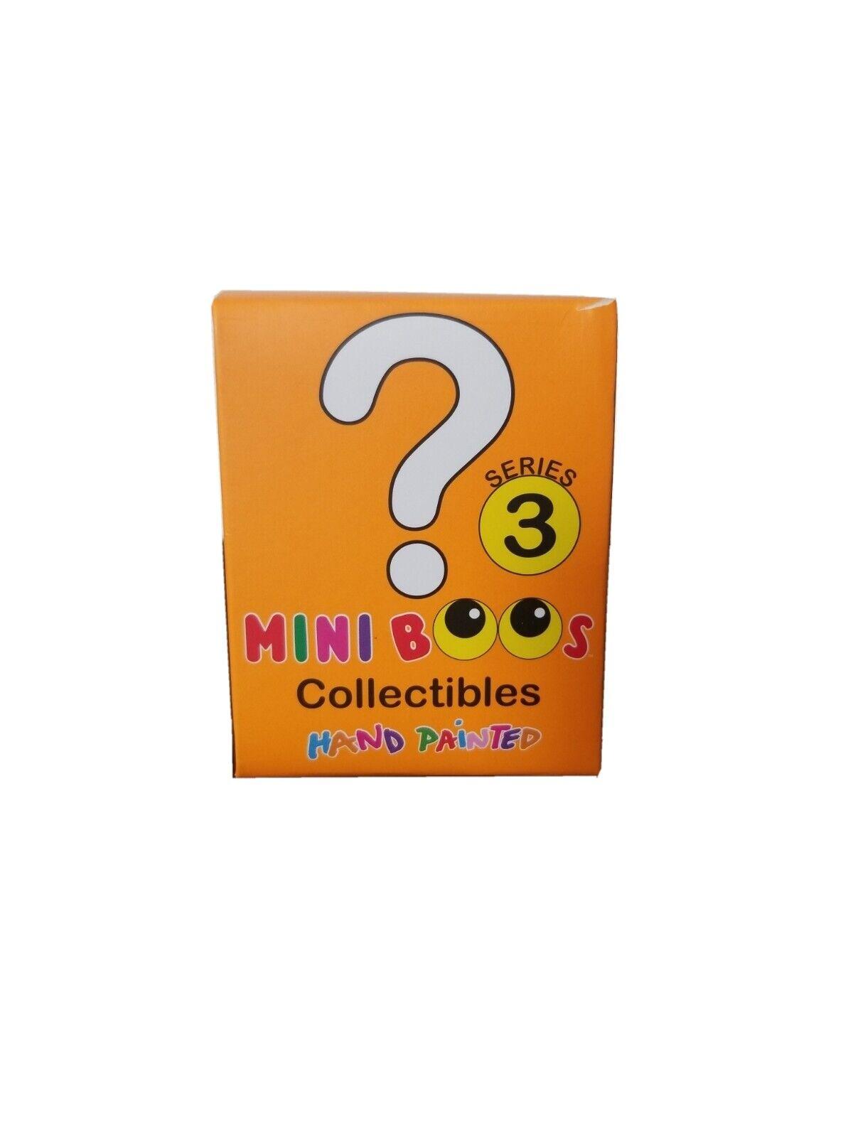 ty Mini Boos Series 3 Sealed Mystery Blind Boxes w// Mini Figure Brand New