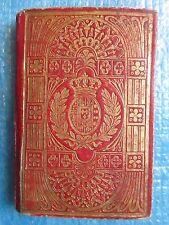 CALENDARIO par l'anno bisestile 1832. Minuscule (in-64) aux armes de Savoie.