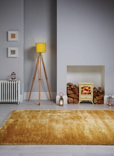 Modern silky shaggy thick deep pile carpet quality home decor