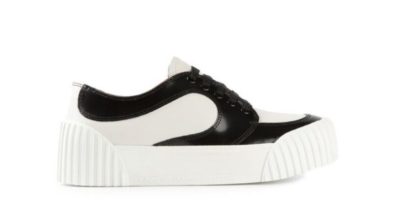 MARC Up BY MARC JACOBS Platform Sole Paneled Lace Up MARC Sneakers Size EU 41 dcd36a
