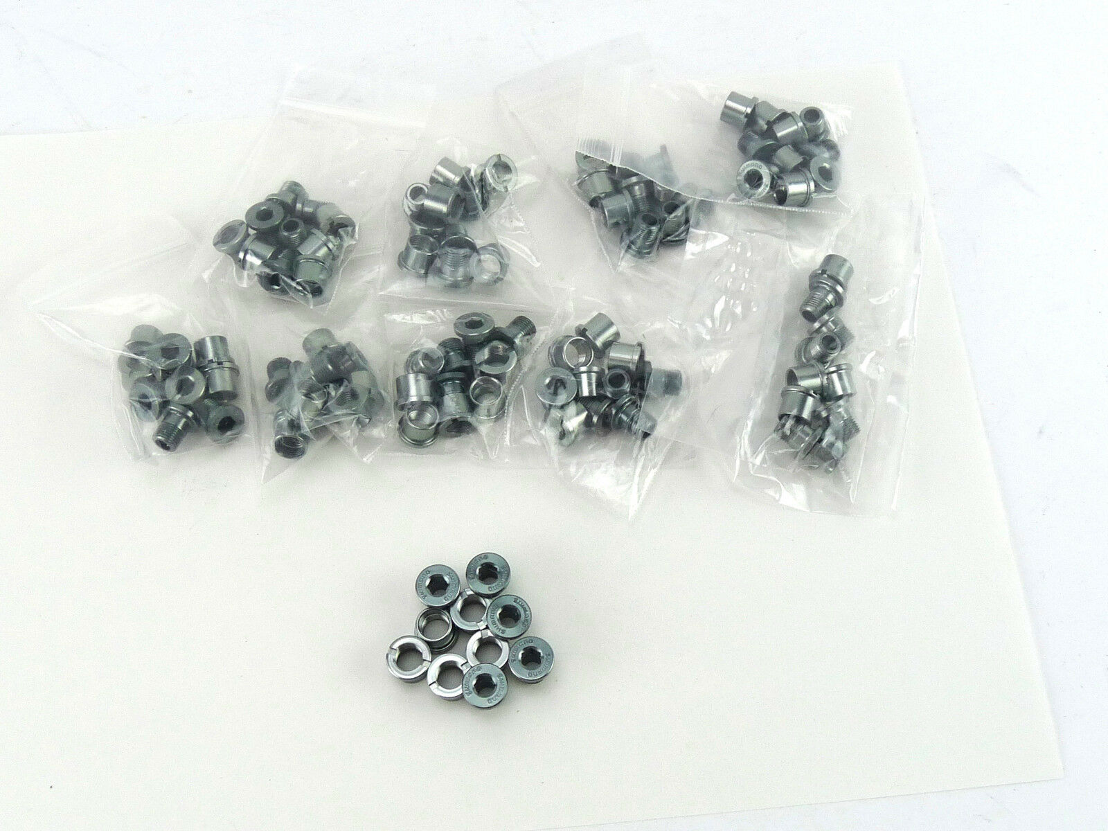 Shimano Dura Ace Chainring Bolts Set 7700 7800 Alloy 10  Grams NOS 10 SETS  40% off