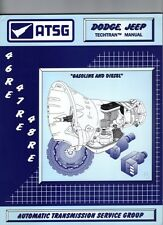 Dodge Jeep 46RE 47RE 48RE ATSG MANUAL Repair Rebuild Book Transmission Guide