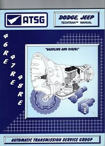 s l300 dodge jeep 46re 47re 48re atsg manual repair rebuild book