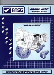 dodge jeep 46re 47re 48re atsg manual repair rebuild book rh ebay com dodge 5 speed manual transmission rebuild kit dodge 5 speed manual transmission rebuild kit