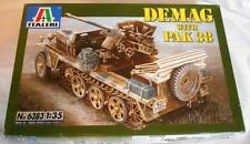 Italeri 1/35 German Demag with PAK 38 Plastic Model Kit # 6383