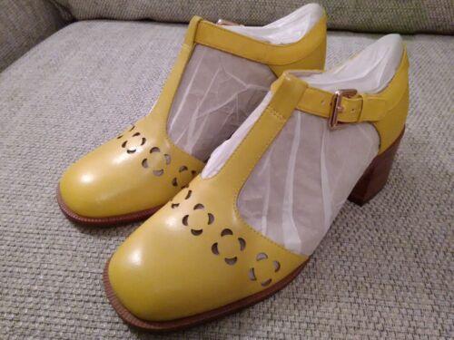 Eur Kiely Yellow formato 7 Shoes In 41 Clarks 5 Retro 5 Bibi Vintage Orla Uk vwYdxqUU