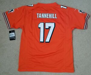 f37efd7f Details about 🔥NEW NIKE Miami Dolphins Ryan Tannehill #17 Orange Football  Jersey Youth Sz. XL