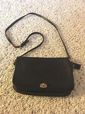 EUC Coach VINTAGE Legacy Leather Mini PENNY Shoulder Crossbody Satchel Bag BLACK