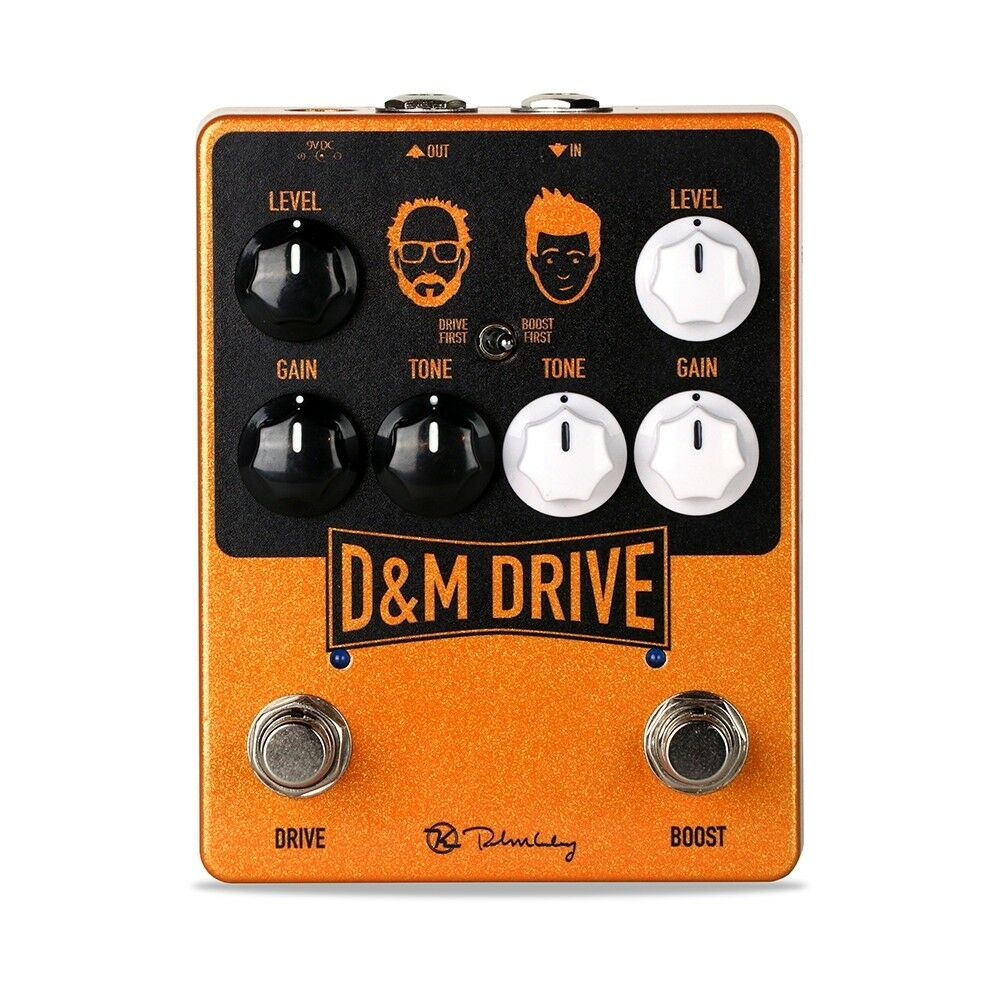 Keeley D&M Drive Dual Drive Boost Guitar Effects Pedal