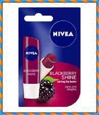 Nivea Cuidado Bálsamo para labios brillo Cares y delicias Blackberry 5,5 Ml/4,8 G