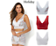 Rhonda-Shear-Pin-Up-Lace-Overlay-Bra-3-pack-HSN-567051 thumbnail 8