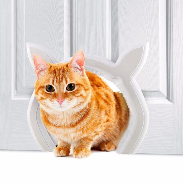 Prouder Pet Interior Cat Door Fits Most Standard Sizes Safe For