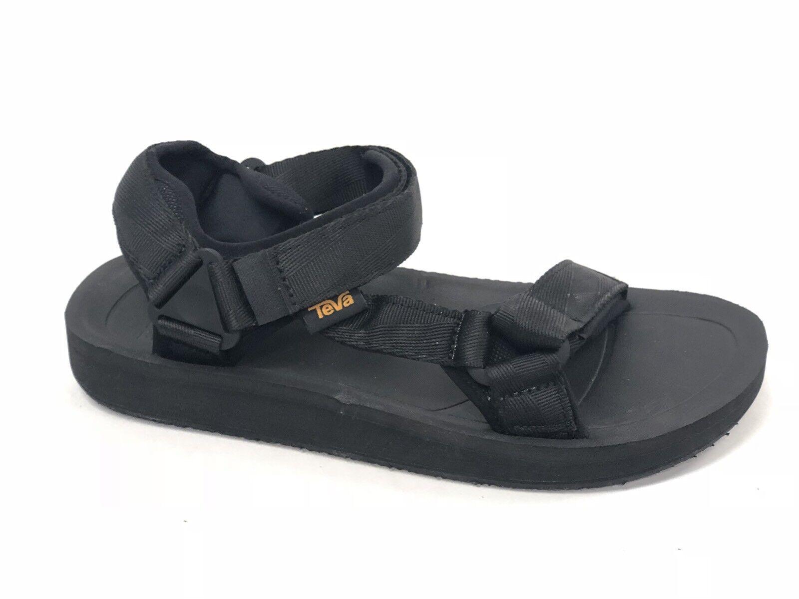 Teva Men's Original BLACK Universal Premier Casual Sandals 1015192 BLACK Original Webbing New 566859