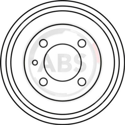 Mâchoires De Frein Set Arrière VW Polo Up Load 1.9 1.0 TDI A.B.S BREMSTROMMELN