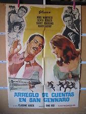 A2870 ARREGLO DE CUENTAS EN SAN GENNARO. NINO MANFREDI- SENTA BERGER