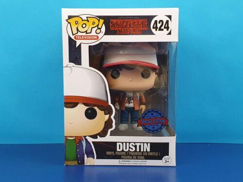 Dustin Brown Jacket Funko Pop Vinyl Figure Stranger Things Exclusive