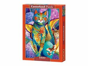 "Castorland Puzzle 1500Pieces Feline Fiesta 68x47cm 27""x18.5"" Sealed box C-151448"