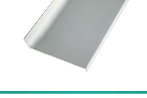 Fuchs Design Fussleiste Sockelleiste 8cm x 250cm Aluminium silber matt eloxiert