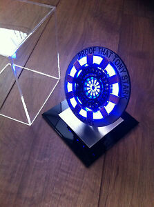 Image Is Loading Iron Man ARC REACTOR MK1 Replica Costume Prop