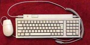 Apple-Keyboard-II-Apple-Desktop-Bus-Mouse-II-work-perfectly