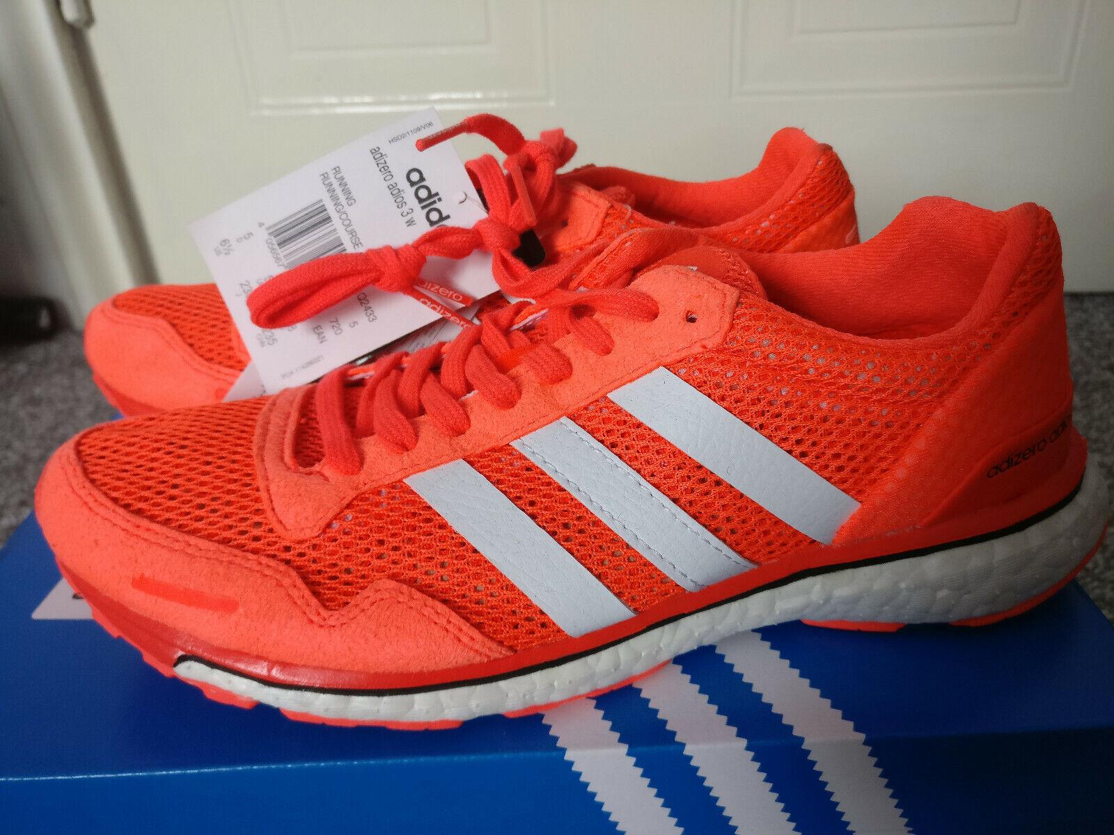 Adidas Adizero Adios 3 Running zapatos Trainers. tamaño5