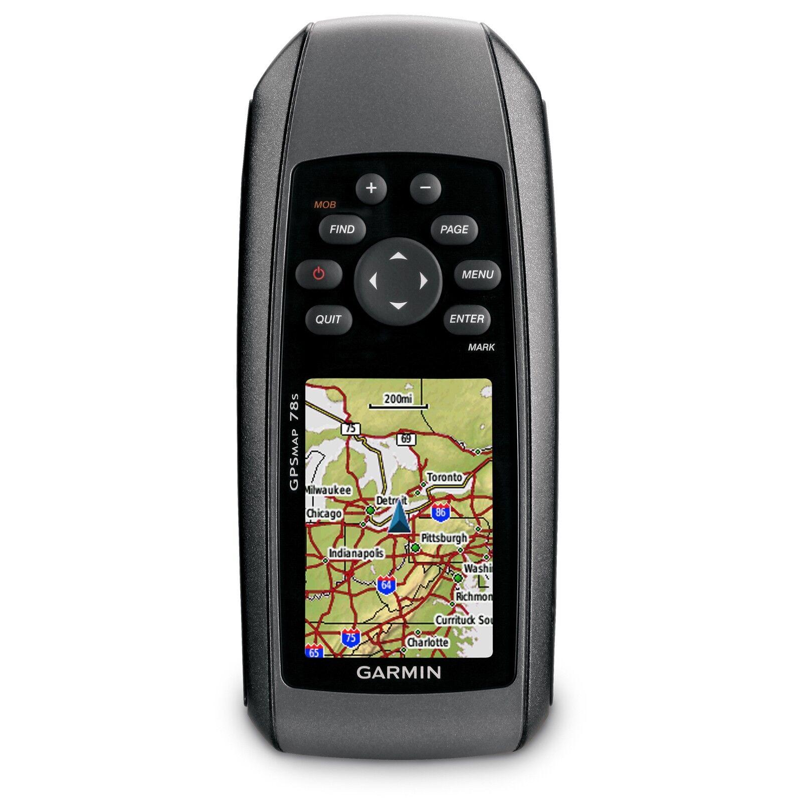 Garmin Gpsmap 78s 78s 78s Marine Handheld GPS 010-00864-01 - Brandneu 18422e