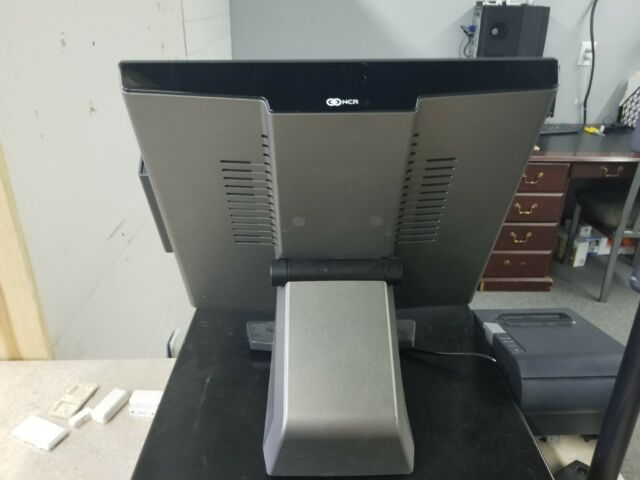 NCR 7754 POS Terminal w/ P Supply, Card Reader Aloha Excellent XRT 72 70  RealPOS