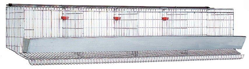 Gabbia per galline ovaiole, capienza circa 20 capi, solo cesto - RITIRO IN ZONA