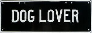 DOG-LOVER-Number-Plate-Sign-Nostalgic-Novelty-Metal-Tin-Sign