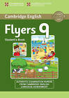 Cambridge English Young Learners 9 Flyers Student's Book: Authentic Examination Papers from Cambridge English Language Assessment by Cambridge University Press (Paperback, 2015)