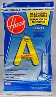 Hoover Filter Bags Type A Allergen Filtration 4010100a (3 Packs Of 4) Total O...
