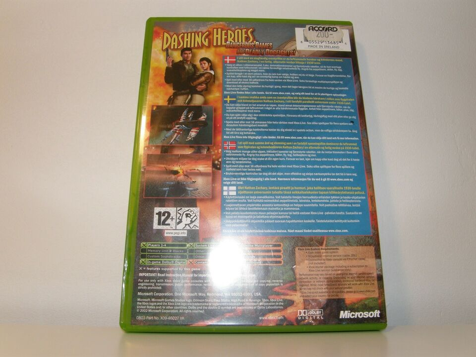 Crimson skies - High road to revenge, Xbox, action