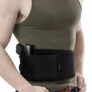 Ultimate Belly Band Holster For Police Bodyguard Concealed Carry Self-defense