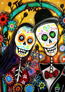 1000 Pcs Puzzle Mexican Funny Skulls Couple Jigsaw Adult