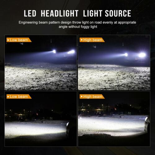 2X HB4 9006 LED Headlight Lamps Light Bulbs Conversion Kits 1800W 270000LM 6000K
