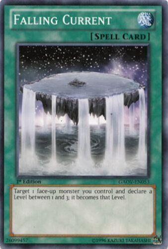 GAOV-EN053 Near Mint 3 x Falling Current 1st Edition - Common