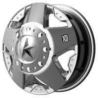 Rockstar chrome Dually Wheels Xd 17 Ford F350 Only 2005 Up, Back In Stock