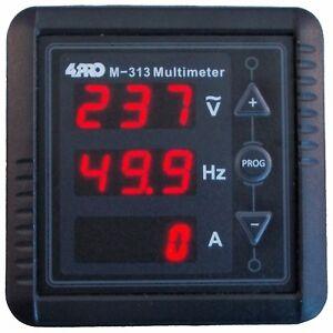 4PRO-M-313-Digital-Multimeter-1-Ph-V-A-Hz-85-265VAC-50-60Hz