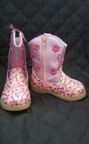 4400430 Blazin Roxx Toddler-Girls sz 4-Lil/' Pecos Boot Round Toe