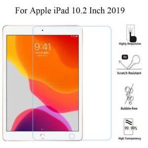 Para-Nuevo-Apple-iPad-7th-generacion-10-2-pulgadas-2019-Protector-de-Pantalla-de-Vidrio-Templado